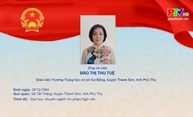 Chương trình hành động của bà Đào Thị Thu Tuệ