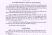Quyết định về việc công bố công khai dự toán bổ sung chi ngân sách năm 2020 (Kinh phí cải tạo hệ thống ánh sáng cột phát sóng truyền hình tỉnh Phú Thọ)