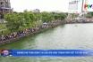 Không khí tưng bừng tại giải bơi chải thành phố Việt Trì mở rộng