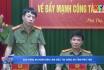 Báo Công an Nhân dân làm việc tại Công an tỉnh Phú Thọ