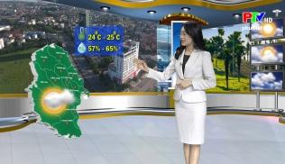 Dự báo thời tiết ngày 24-2-2020