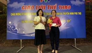 """Đài Phát thanh và Truyền hình Phú Thọ trao giải cuộc thi """"Góc làm việc xanh - sạch - đẹp"""" năm 2021"""