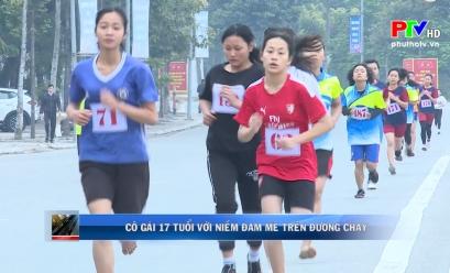 Cô gái 17 tuổi với niềm đam mê trên đường chạy