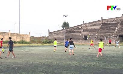 Công tác chuẩn bị cho giải bóng đá cup truyền hình