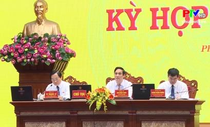 Giải trình, chất vấn và trả lời chất vấn tại Kỳ họp thứ Tám, HĐND tỉnh khóa XVIII