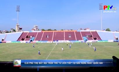CLB Phú Thọ bất bại trận thứ tư liên tiếp tại Giải hạng Nhất Quốc gia