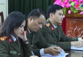 """An ninh Phú Thọ: Kết quả trong phong trào thi đua """"Vì an ninh Tổ quốc"""""""