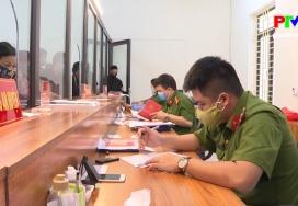 An ninh Phú Thọ - Trên trận tuyến phòng, chống dịch Covid 19