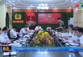 An ninh Phú Thọ ngày 23-4-2021