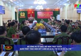 An ninh Phú Thọ - Bảo đảm trật tự an toàn giao thông
