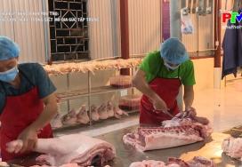 Áp dụng công nghệ trong giết mổ gia súc tập trung