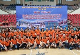 Đảng bộ Đài PT&TH Phú Thọ tham gia Hội thao Đảng ủy Khối các cơ quan tỉnh năm 2021