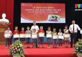 Bảo hiểm nhân thọ Hanwha Life 5 năm đồng hành vì an sinh ở Phú Thọ