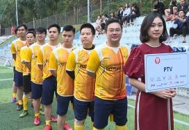 Đội bóng PTV tham gia Auto & Bank Cup Phú Thọ 2021