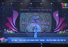 Bế mạc, trao giải Liên hoan Phát thanh - Truyền hình lần thứ XV