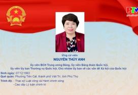 Chương trình hành động của bà Nguyễn Thúy Anh