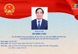 Chương trình hành động của ông Bùi Minh Châu