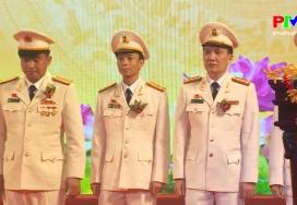 Công an tỉnh Phú Thọ đón nhận danh hiệu AHLLVT nhân dân thời kỳ đổi mới