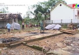 Đại đoàn kết - Hỗ trợ các gia đình bị thiệt hại bởi giông lốc
