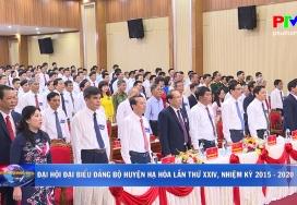 Đại hội Đại biểu Đảng bộ huyện Hạ Hòa lần thứ XXIV, nhiệm kỳ 2020 - 2025