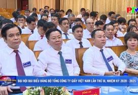 Đại hội Đại biểu Đảng bộ Tổng công ty giấy Việt Nam lần thứ III, nhiệm kỳ 2020 - 2025