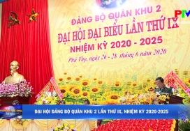 Đại hội Đảng bộ Quân khu 2 lần thứ IX, nhiệm kỳ 2020 - 2025
