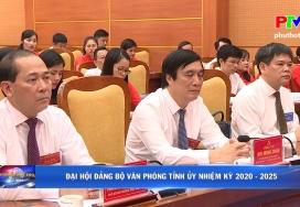 Đại hội Đảng bộ Văn phòng Tỉnh ủy nhiệm kỳ 2020 - 2025