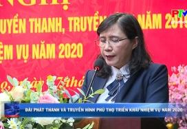 Đài Phát thanh và Truyền hình Phú Thọ triển khai nhiệm vụ năm 2020