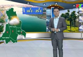 Dự báo thời tiết ngày 20-11-2019