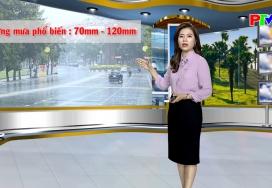Dự báo thời tiết ngày 13-10-2021