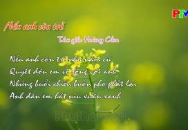 Đến với bài thơ hay - Nếu anh còn trẻ
