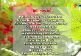 Đến với bài thơ hay - Thời hoa đỏ