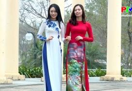 Đẹp cùng PTV: Duyên dáng áo dài