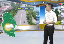 Dự báo thời tiết ngày 10-8-2019