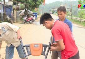Hiệu quả từ chương trình hỗ trợ máy nông nghiệp
