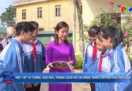 Học tập tư tưởng, đạo đức, phong cách Hồ Chí Minh, nâng cao đạo đức nhà giáo