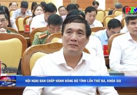Hội nghị Ban chấp hành Đảng bộ tỉnh lần thứ ba, khóa XIX