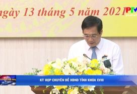 Kỳ họp chuyên đề HĐND tỉnh khóa XVIII