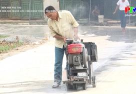 Nông thôn mới Phú Thọ - Xã hội hóa các nguồn lực
