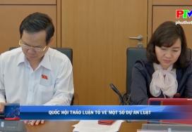 Quốc hội thảo luận tổ về một số dự án luật