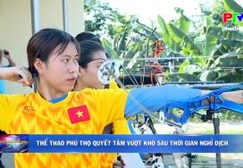 Thể thao Phú Thọ quyết tâm vượt khó sau thời gian nghỉ dịch