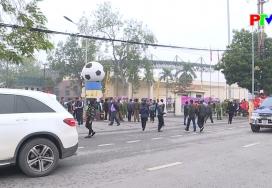 Việt Trì tổ chức thành công trận giao hữu giữa đội tuyển Quốc gia và U22 Việt Nam