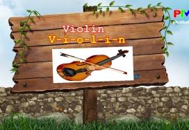 Từ vựng cho bé yêu: Nhạc cụ