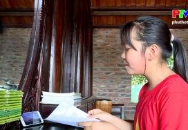Những bông hoa đất Tổ: Cô học trò đam mê ca hát