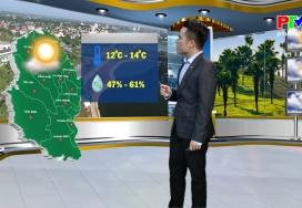 Dự báo thời tiết ngày 11-1-2021