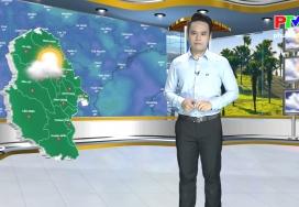 Dự báo thời tiết ngày 24-8-2019
