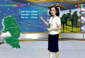 Dự báo thời tiết ngày 24-9-2020