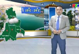 Dự báo thời tiết ngày 25-11-2019