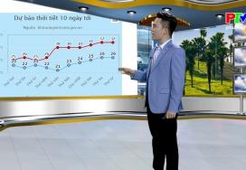 Dự báo thời tiết ngày 25-4-2021