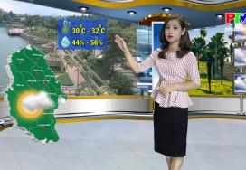 Dự báo thời tiết ngày 24-9-2019